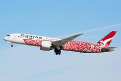 Qantas Boeing 787-9 Dreamliner VH-ZND (Mark Harris photography) Tags: spotting lax la canon 5d boeing 787 qf qantas