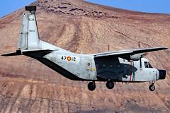 TM.12D-72 (GH@BHD) Tags: tm12d72 4712 casa casa212 aviocar spanishairforce ace gcrr arrecifeairport arrecife lanzarote military aircraft aviation ecm turboprop airliner