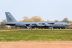 Boeing B-52H Stratofortress 60-0058 US Air Force RAF Fairford 28/03/19 (Shaun Schofield) Tags: buff b52h stratofortress bomber aircraft jet usaf raf fairford