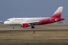 VQ-BAU Rossiya - Russian Airlines Airbus A319-111 (Nathan_Ivanov) Tags: airplane aircraft vko vnukovo uuww spotting airbus airbusa319