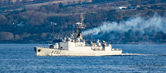French Navy - Premier-Maître L'Her (F792) (Ratters1968: Thanks for the Views and Favs:)) Tags: canon70d martynwraight ratters 1968 canon dslr photography digital eos warships ship navy war military fleet faslane greenock cloch jw jointwarrior2019 clyde riverclyde scotland sea water nato exjw19 frenchnavy premiermaîtrelherf792 corvette sloopship a69destiennedorvesclass french france frigate