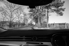 17/365 Just Another Day On The Road (Charlie Little) Tags: project365 p365 car driving blackandwhite bw mono sonya7ii fullframe 1635mm cumbria