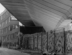 WESTWAY FLYOVER PROJECT (Steve Mepsted) Tags: blackandwhire community westwayflyover westeleven mediumformat trix project architecture scans grenfell motorway westway brutalism