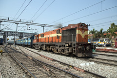 Indian Railways WDG-3A 13314 Secunderabad Junction (daveymills37886) Tags: indian railways wdg3a 13314 secunderabad junction alco