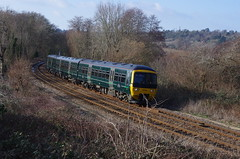 IMGP7459 (Steve Guess) Tags: gwr class165 diesel unit train shalford guildford surrey england gb uk