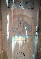 Door at the cemetery (rotabaga) Tags: sverige sweden göteborg gothenburg iphone östrakyrkogården cemetery