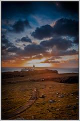 Neist Point Sunset - Explore No.44 - 16.02.2019 (muddybootsuk) Tags: neistpoint nesspoint lighthouse northernlighthouseboard antaigeach camasban cammasnahannait neistfhiadhaich sea sunset cliffs clouds landscape skye isleofskye nikond850 muddybootsuk scotland greatbritain unitedkingdom