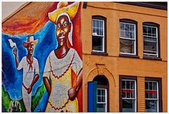 2019/058: The Mural (Rex Block) Tags: 2019058themural nikon d750 dslr 85mm f18g washington dc 14thstreet ustreet building faade mural storefront bricks corner project365 365the2019edition 3652019 day58365 27feb19