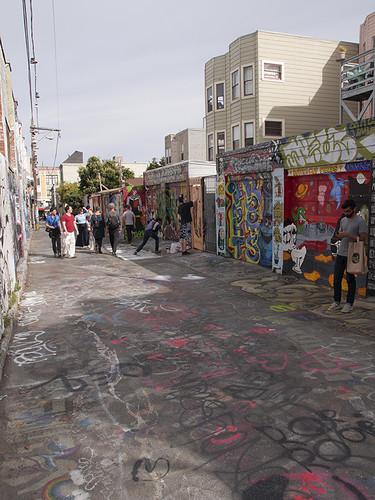 San Francisco - Back Street Graffiti