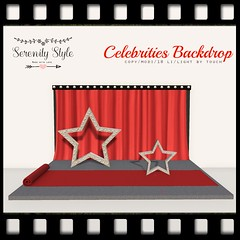 """Celebrities Backdrop"" by Serenity Style -  MadPea Premium Alliance Hunt: The Golden Pea Awards! (MadPea Productions) Tags: madpea productions madpeas alliance hunt prize prizes collaboration collaborators glamorous decor decoration"