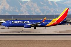 Southwest Airlines   Boeing 737-800   N8581Z   Las Vegas McCarran (Dennis HKG) Tags: aircraft airplane airport plane planespotting canon 7d 100400 lasvegas mccarran klas las southwest southwestairlines swa wn boeing 737 737800 boeing737 boeing737800 n8581z