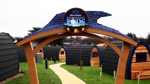 Stargazing Pods Entrance