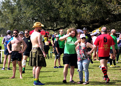 Rugby Fans (Mike McCall) Tags: copyright2019mikemccall photography photo image usa culture southern america thesouth unitedstates northamerica south georgia stpatricksdayrugbytournament stpatrick day rugby tournament game sport sports field pitch football savannah chatham county documentary editorial side daffin park daffinpark parkside