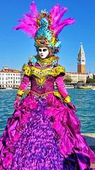 Buongiorno siora maschera (Davide Luca Baini) Tags: festival culture mythical carnevale venezia maschera maschere laguna venice carnival carneval campanile