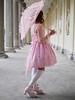 (xBadFox) Tags: lolita sweetlolita people girl woman dress pink umbrella castle outdoor lumix lumixgx8 leica portrait