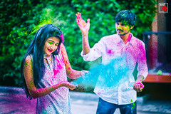 Holi is a special time of year to remember those who are close to our hearts with splashing colors! (Red9 Production) Tags: red9production preweddingshootidea savethedate comingsoon weddingsutra wedmegood photoshoot travel journey crazy ocean dvlop hellodvlop concept photography couple love memories candid candidphoto colorful moments