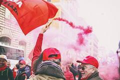 DSCF7235 (Alessandro Gaziano) Tags: foto fotografia alessandrogaziano roma colori colors people gente manifestazione diritti italia italy visioni lavoro lavoratori