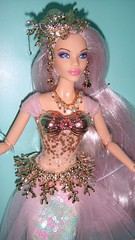 2019 Mermaid Enchantress Barbie (6) (Paul BarbieTemptation) Tags: 2019 mermaid enchantress barbie gold label mythical muse series claudette fantasy