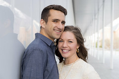 Engagement Pictures in Downtown Provo (aaronrhawkins) Tags: engaged engagement couple bride groom husband wife marry married young pretty handsome cute downtown provo utah nuskin happy smiling pose grant rylee beautiful aaronhawkins