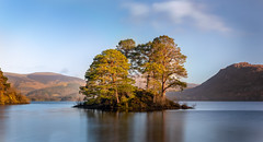 The Island (Nicks-2017) Tags: red derwentwater thelakes thelakedistrict cumbria nationalpark nationaltrust water le longexposure lake reflections nature outdoors island tresst sky cloud waterfront canon eos 6dmkii