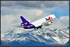 N303FE Federal Express FedEx (Bob Garrard) Tags: mcdonnell douglas md10 dc10 n303fe federal express fedex anc panc