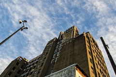 """""""The Beury Building of Philadelphia"""" (Photography by Sharon Farrell) Tags: beurybuilding northbroadsothertower phillytowers historicbuildingsofphiladelphia nationalbankofnorthphiladelphia broadstreet northbroad northbroadstreet germantown germantownavenue williamhleearchitect artdeco lategothicrevival spiralstaircase philadelphia philadelphiapa philadelphiaarchitecture architectureofphiladelphiaphiladelphiaarchitecturecityofphiladelphiafranklintowne cityofphiladelphia centercity centercityphiladelphia"""