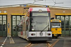 DWA Bautzen NGT6DD #2542 Tatra T4D-MT #224_201 DVB Dresden Drezno (3x105Na) Tags: dwa bautzen ngt6dd 2542 tatra t4dmt 224201 dvb dresden drezno strassenbahn strasenbahn tram tramwaj deutschland germany niemcy sachsen saksonia betriebshof betriebshoftrachenberge