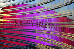 Happy Valentines Day (Paul B0udreau) Tags: lasvegas canada ontario niagara paulboudreauphotography nikon nikond5100 nevada nikkor1855mm reflections nighttime lights aria nikkor50mm18