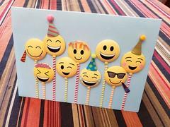 Emoji Birthday Card (Joe Shlabotnik) Tags: home birthdaycard emoji cameraphone december2018 galaxys9 2018 faved