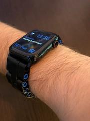 Anglų lietuvių žodynas. Žodis watchband reiškia n amer. laikrodžio apyrankė lietuviškai.