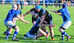 Oldershaw v Old Bedians(Didsbury) 16/2/2019 (sab89) Tags: oldershaw v old bediansdidsbury 1622019 rugby union club wirral wallasey belvidere playing fields game tackle bedians didsbury rufc