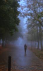 Walking to the Bus Loop (jvde) Tags: 3570mmf3345nikkor burnaby coolscan film fujicolor400 gimp sfu nikonfe