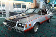 Indy (Flint Foto Factory) Tags: flint michigan urban city home town winter february 2019 1981 buick regal 65th indianapolis 500 indy pace car replica generalmotors gm silver black turbo turbocharged bishop international airport 3425 wbristolrd bristol road presidents day weekend classic vintage american auto automobile sloan longway gallery worldcars
