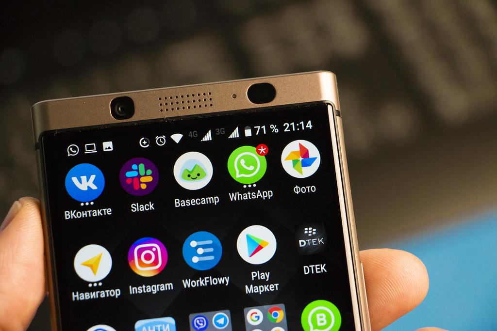 Blackberry Z10 Whatsapp Probleme