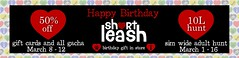 .:Short Leash:. Happy Birthday Sale (Short Leash // original mesh & virtual kink) Tags: shortleash secondlife sale anniversary bdsm kinky gacha discounts puppyplay petplay babygirl daddy mistress mommy babyboy