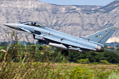 30+11  EF2000 Eurofighter  Zaragoza NTM 2016 (Antonio Doblado) Tags: 3011 ef2000 eurofighter zaragoza ntm nato tigermeet fighter aviación aviation aircraft airplane