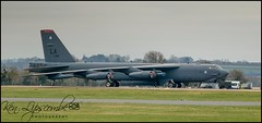 60-0015 Boeing B-52H Stratofortress c/n 464380 United States Air Force (RAF Fairford-EGVA) 20/03/2019 (Ken Lipscombe <> Photography) Tags: 600015 boeing b52h stratofortress cn 464380 united states air force raf fairfordegva 20032019