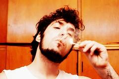 Bad boy (Laravbe) Tags: boy cigarette smoke smoking humo cigarrillo muchacho