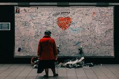 20190322-_DSF5232 (ToxicTones) Tags: maelbeek maalbeek station metro drama terror attack belgium brussel brussels memorial street reportage documentary red desaturated