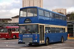 Preserved Midland Scottish B105 PKS (RM805) | 2018 SPT Vintage Bus Fayre | Buchanan Bus Station, Glasgow (Strathclyder) Tags: midland scottish midlandscottish mcw metrobus dr1326 alexander rl b105 pks b105pks rm805 glasgow buchanan bus station scotland mrm105 firstmidlandbluebird 31583 gvvt bridgeton