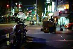 2106/1847 (june1777) Tags: snap street seoul night light bokeh sony a7ii canon fd 55mm f12 1250 clear
