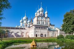 Rostov Kremlin (Rostov, Russia) (KonstEv) Tags: church cathedral orthodox rostov russia kremlin kreml wall gate palace temple dome cross monastery religion architecture building