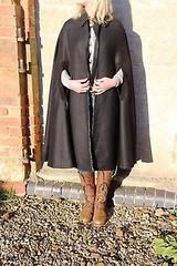 gr-Vintage-80s-90s-Henry-Val-Paris-Black-Wool-Gabardine (rainand69) Tags: cape umhang cloak pèlerine pelerin peleryna