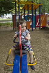 see saw girl (louisa_catlover) Tags: portrait child park playground outdoor family daughter toddler tabitha tabby