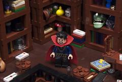 Doctor Strange (Ben Cossy) Tags: dr doctor strange wizard magic lego afol tfol marvel mcu comic comicbook