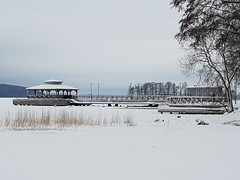 Mukkulan kartano Lahti. Winter swimming place (raijarytkönen) Tags: talo house järvi lake