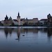 Prague - Vltava River Panorama