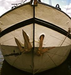 Old Dutch Klipper (Nescio) Tags: klipper klinknagel schip staal steel rivet