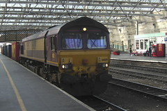 66189 (Rob390029) Tags: ews english welsh scottish 66189 class 66 carlisle citadel railway station car train