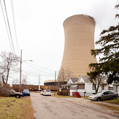 PC280718 (elsuperbob) Tags: newtopographics michigancity indiana coolingtower emptystreets industry